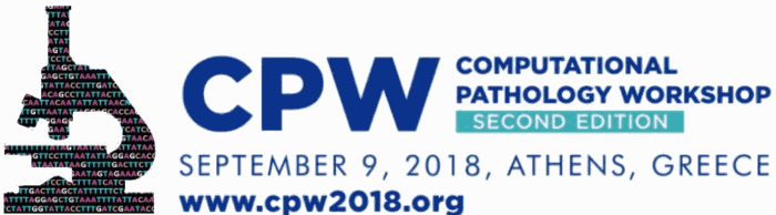 CPW2018 - Computational Pathology Workshop - second edition